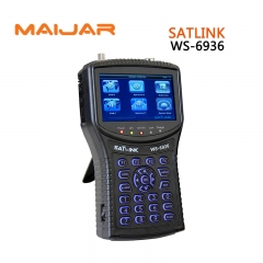 Satlink WS-6936 DVB-T&DVB-S Combo Meter with Spectrum Meter Satlink 6936 ws6936 meter finder