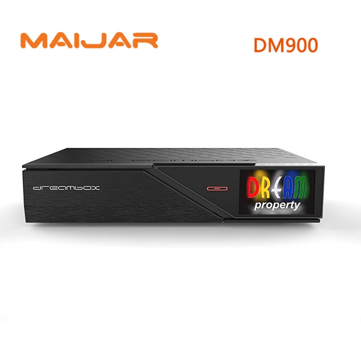 DM900 HD with DVB-S2/C/T2 Tuner 4K E2 Linux TV Receiver 2160p PVR Satellite Receiver Tv Box