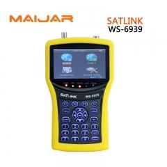 Digital Satellite Finder Meter WS6939 Digital Terrestrial Signal Satlink WS-6939 4.3 Inch LCD Screen