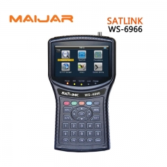 Satlink WS-6966 Satellite Finder MPEG4 DVB-S2 Meter Satlink 6966 HD HDMI Satellite Singnal Finder