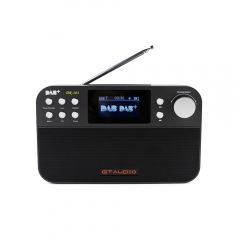 Portable DAB+ Radio GTmedia DR-103 2.4 Inch TFT-LCD Black White Display DAB+/FM RDS wavebands Radio