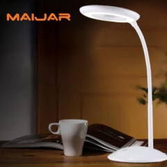 Student Eye Study Desk LED Lamp Eye Protection Desk LED Light Energy-Saving And Folding LED white 18*16*24cm Led:  24*SMD2835