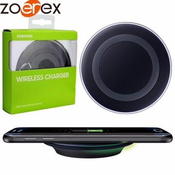 Qi Wireless charger SAMSUNG GALAXY S6 S6 Edge S7 S7 Edge Note5 all Qi devices EP-PG920I black 'normal'