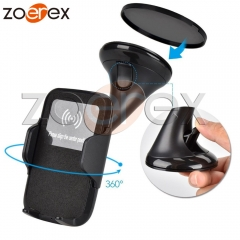 Multi-Function Qi Wireless Charger Phone Holder Car Charger For Samsung S6 S7 S7Edge Note 5 LG G3/G4