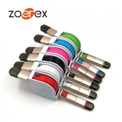10pcs Multi-function mobile phone metal telescopic data cable combo  Apple Android usb data cable. black