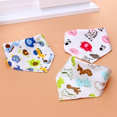 5pcs/lot New Arrive baby bibs 100% cotton bandana bibs for boys one size