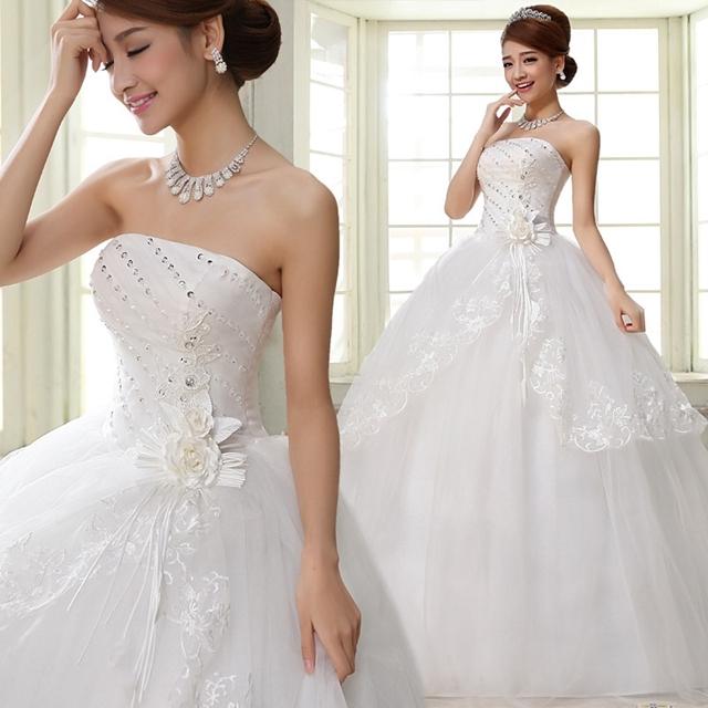 Kilimall: 2017 sweet princess dress white wedding dress lace lace ...