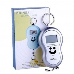 Portable LCD Digital Baggage Luggage Fishing Hanging Hook Weighing Scale 50KG/10G Random Standard