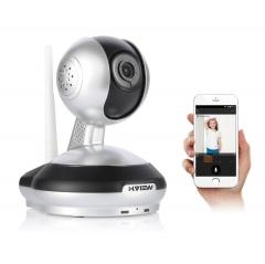 960P Wireless IP Camera H.VIEW WiFi CCTV Security Camera Two Way Audio Baby Monitor white uk plug