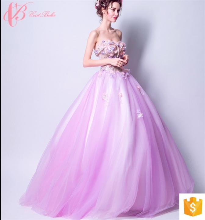 dd2b1f8af327d Spanish style evening dress taobao evening dress popular cestbella evening  party dress school girls purple us