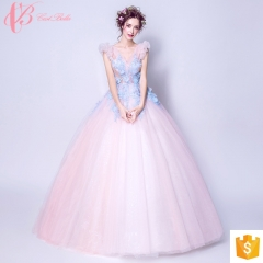 Latest net dress designs evening dresses ball gowns and cocktail  prom cestbella  dress 2017 pink us 4
