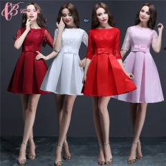 2017 Cestbella Elegant Romantic Colors Evening Dinner Dress Evening Dress Short Pink us  4