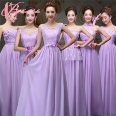 2017 Cestbella Women Prom High Elegant Chiffonbridesmaid dress Purple us 4