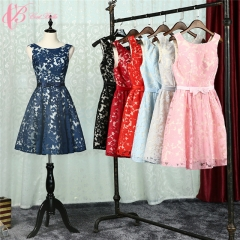 Cestbella Plain Optional Color Bowknot Plus Size Vintage Mother Of The Bride Dresses Knee Length Red us 4