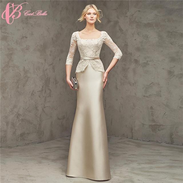 1569e0186e2 Cestbella China Vintage Women Party Night Long Sleeve Trumpet Evening Dress  ...