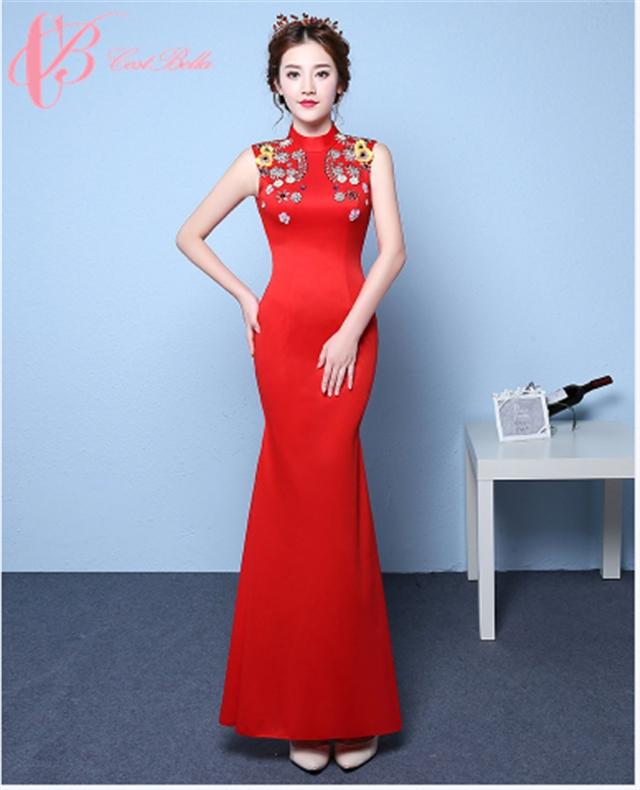 ee4633943b03c Cestbella Long Formal Dress Rose Red Sexy Mermaid Long OEM Evening Dress ...
