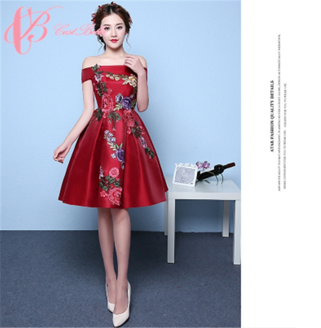 6407f776432db Kilimall  Cestbella Cheap Chic New Red Sexy Women Evening Dress ...