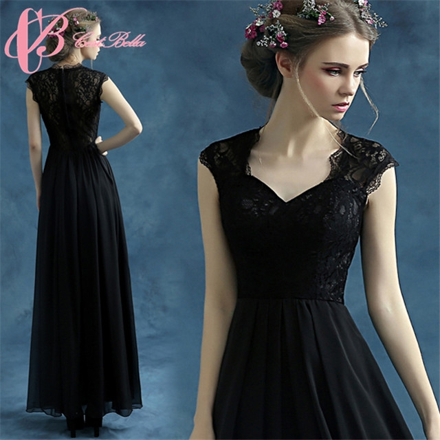 Kilimall: Cestbella 2016 Latest Gown Designs Black Long Evening ...