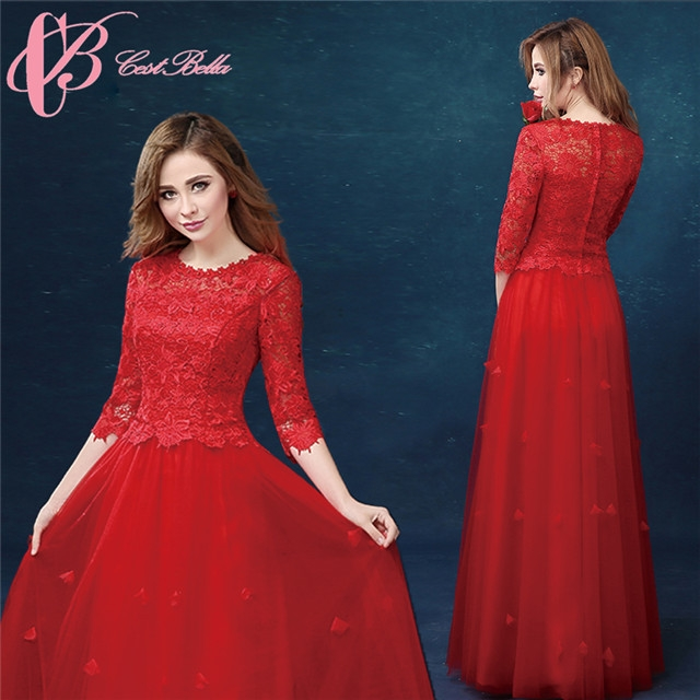 a328d3c9b235f Cestbella New Design Top Quality China Factory Elegant Lady Red Evening  Dress Red us 14  Product No  648847. Item specifics  Brand