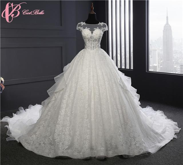 Chinese Cestbella Gorgeous High Quality Taobao Pakistani Bridal Wedding Dresses White Us 8
