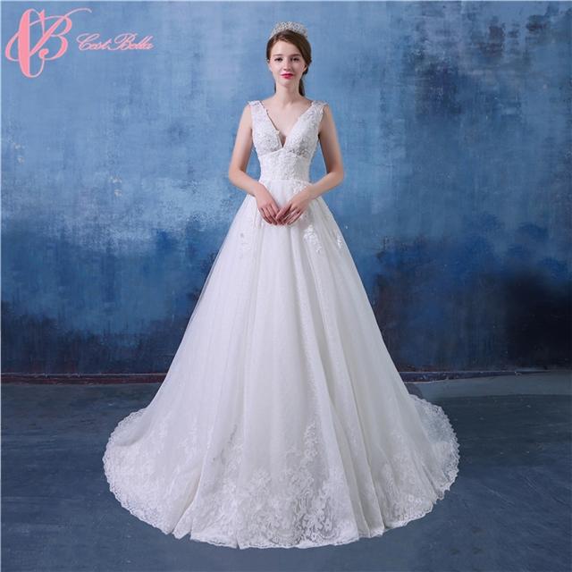 Cestbella Sweetheart Neckline Lace Ivory Wedding Dress Ball Gown Vestidos  De Novia White us 8 732d04248238