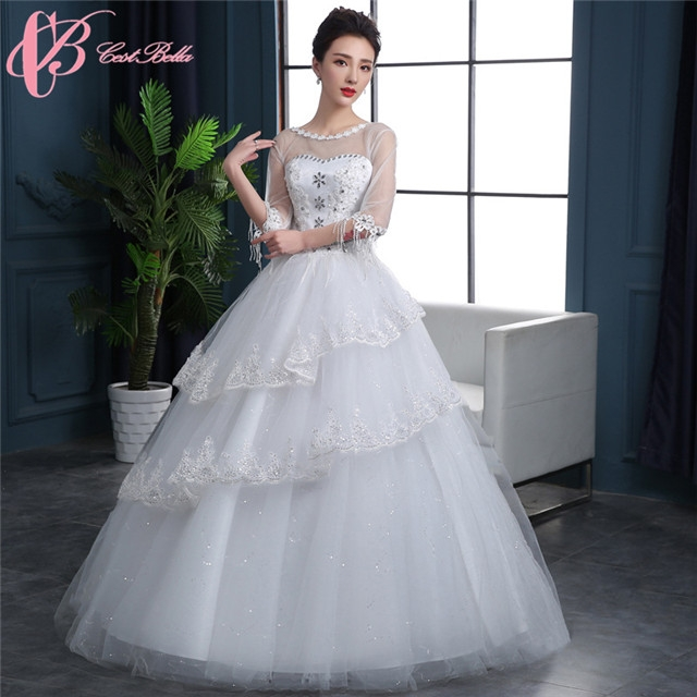Kilimall: Wholesales lace short sleeve ball gown dress princess ...