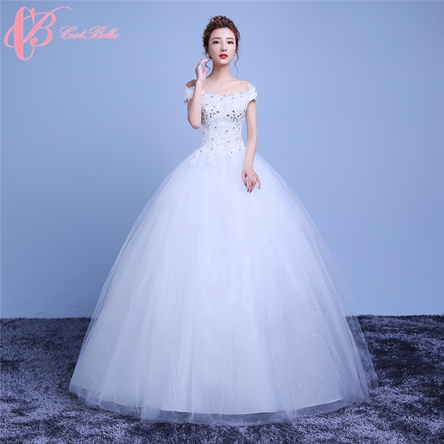 f67144e840c90 China Traditional Heavy Beading High Quality Long Chiffon Ball Gown Wedding Dress  Cestbella pure white us