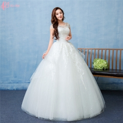 Ghana Cheap Wedding Dresses Lace Sweetheart Cap Sleeve Made In China pure white us 4
