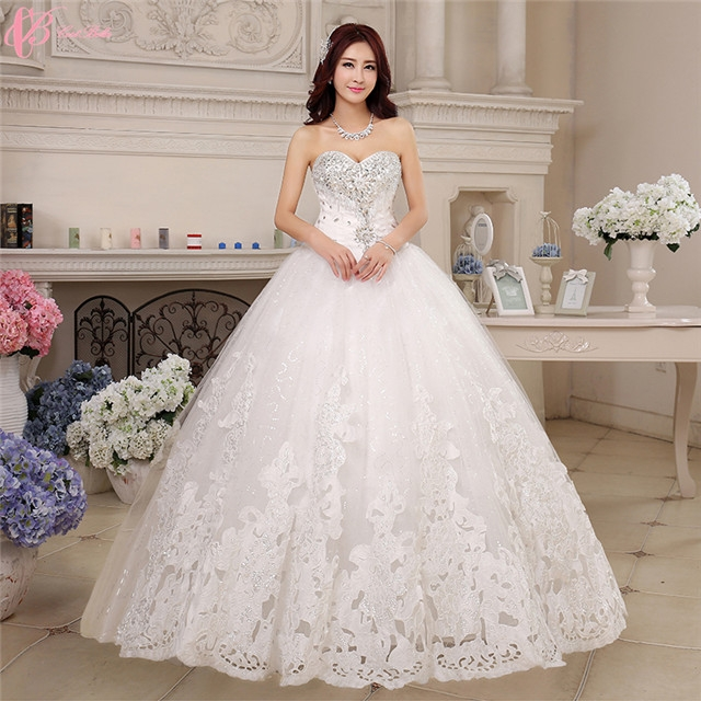 1f16b133b5b6 Plus Size Wedding Dress White Latest Designs Photos Ball Gown Wedding Dress