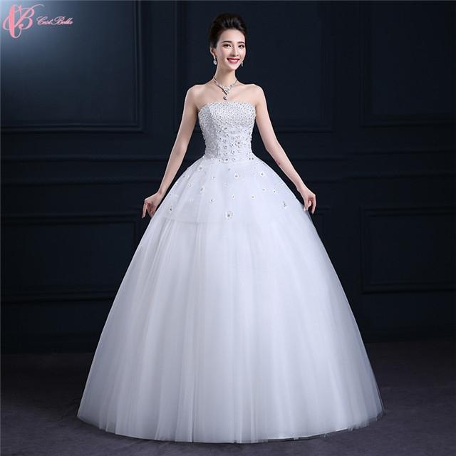 Kilimall: 2017 Luxury Wedding Dresses Under 100 Crystal Ball Gown ...