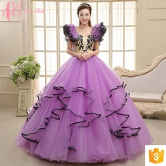 Up-market Cap Sleeve Purple Trumpet New Designs For Fat Girl Ecru Evening Dress purple us 4