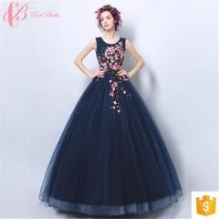 royal blue sleeveless plus size transparent elegant for women evening dress blue us 4