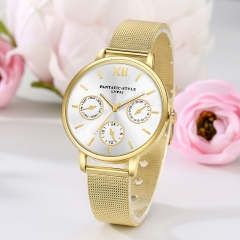 2018 Promotion Bling Unisex Quartz Men Women Wrist Watch Unique Watches golden normal