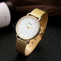 (Only 1 in stock) Classic Golden Dial Fashion Men Watches Casual Business Men Quartz Luxury Watch golden normal
