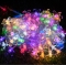 women's day Outdoor Solar Powered String LED Light Small Flower Pattern Party Light Ornament colorful normal avarage