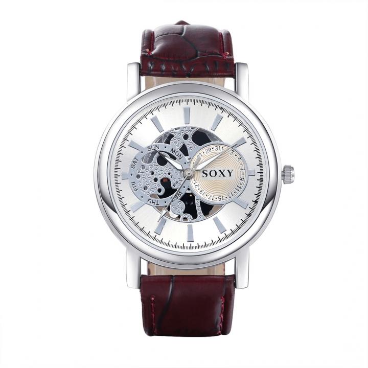 (Buy 1 Get 1 Gift) Men's Watch Dress Watch Business Style Quartz Wrist Watches White normal