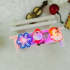 Christmas Light Up Toys LED Finger Lights Rings Party Favors Lights for Kids Adults Assorted Styles random normal