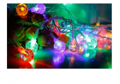 women's day LED Lights Wedding Party Decorative Lamp Holliday Lighting LED String Lights colorful normal avarage