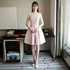 Cestbella Fashion Polyster Short Bridesmaid Dress per picture us  4