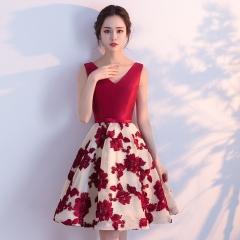 Cestbella High Quality Elegant Floral  Bridesmaid Dress per picture us  4