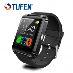 U8 Smart Watch Clock Sync Notifier Support Bluetooth Connectivity For Android Phone black 1