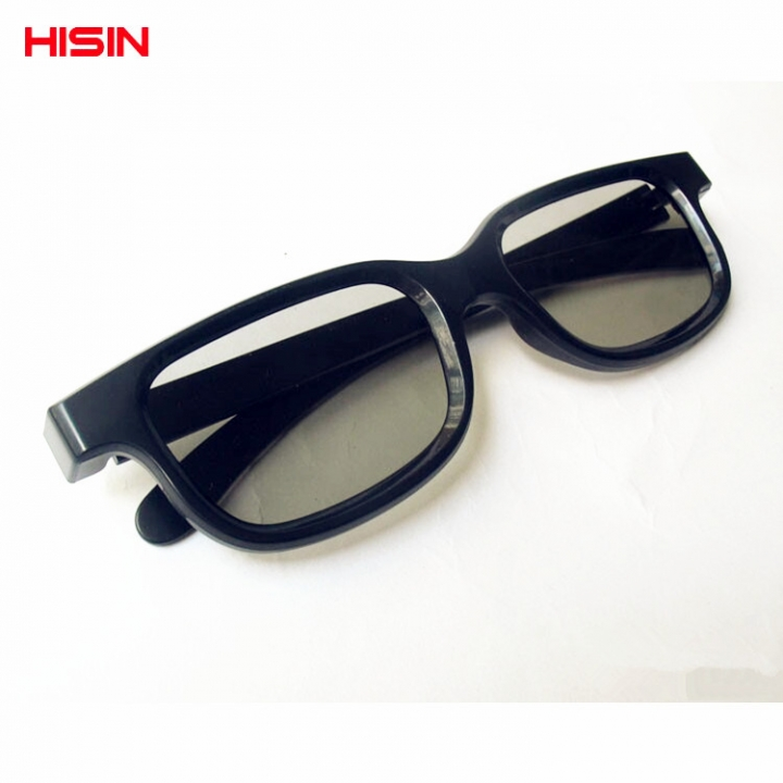10pcs direct sales theater  real D3D glasses passive round polarized cinema  3D stereoscopic glasses