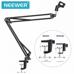 Broadcasting Studio Microphone MicStand Boom Scissor Suspension For Mounting On PC Laptop Notebook