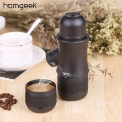 Homgeek Mini Portable Compact Manual Espresso Maker Hand Operated Coffee Machine Cappuccino For Home
