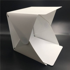 Portable Folding Lightbox Photography Studio Softbox LED Light Soft Box for  Camera Photo Background white