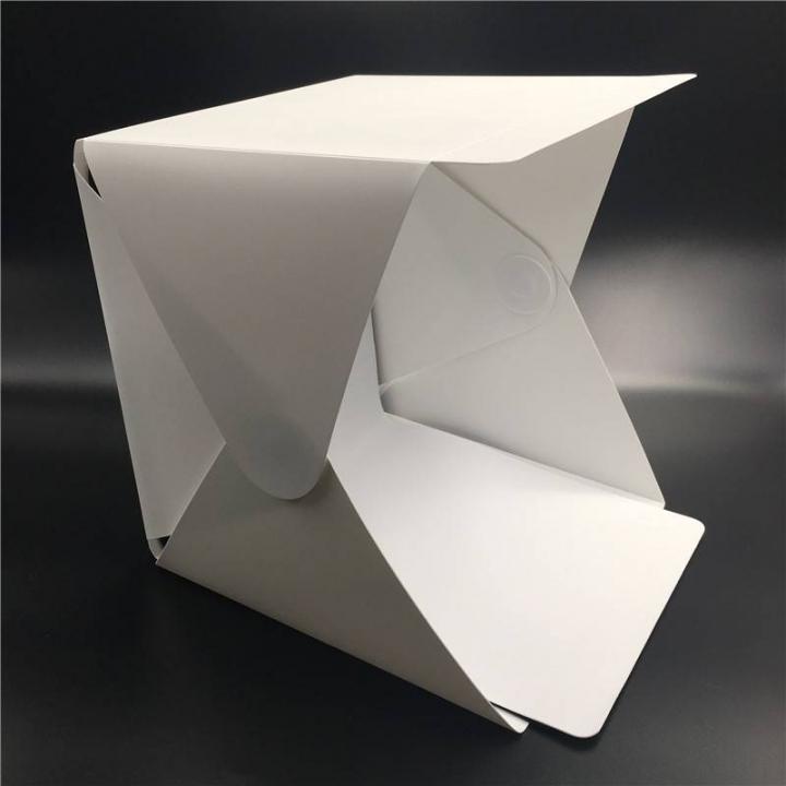 Portable Folding Lightbox Photography Studio Softbox LED Light Soft Box for  Camera Photo Background white