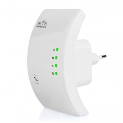 Wireless WIFI Repeater 300Mbps Network Antenna Wifi Extender Signal Amplifier 802.11n/b/g Signal white