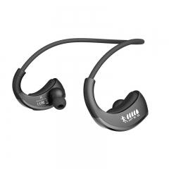IPX5 Waterproof Sports Headset Wireless Bluetooth V4.1 Earphone Ear-hook Headphone with Mic black