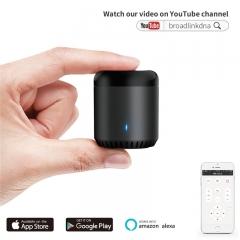 IR Control Hub Alexa RM Mini Smart Home Wi-Fi Enabled Infrared Universal Remote One All Control black Alexa