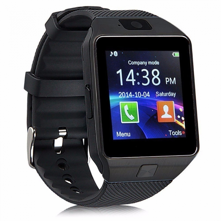 Bluetooth Smart Watch DZ09 Smartwatch Watch Phone Support SIM TF Card  Camera  Android IOS Phones black 1